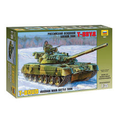 Модель для склеивания ТАНК «Основной российский Т-80УД», масштаб 1:35, ЗВЕЗДА, 3591