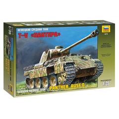 """Модель для склеивания ТАНК «Средний немецкий T-V """"Пантера», масштаб 1:35, ЗВЕЗДА, 3678"""