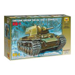 Модель для склеивания ТАНК «Тяжелый советский КВ-1 с пушкой Л-11», масштаб 1:35, ЗВЕЗДА, 3624
