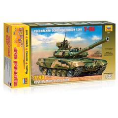 Модель для склеивания набор ТАНК «Основной российский Т-90», масштаб 1:35, ЗВЕЗДА, 3573П