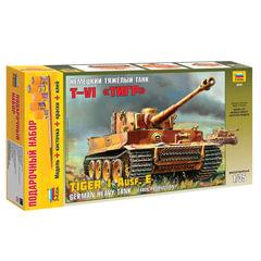 "Модель для склеивания набор ТАНК «Тяжелый немецкий T-VI »Тигр"", масштаб 1:35, ЗВЕЗДА, 3646П"