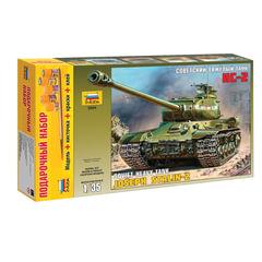 Модель для склеивания набор ТАНК «Тяжелый советский ИС-2», масштаб 1:35, ЗВЕЗДА, 3524П