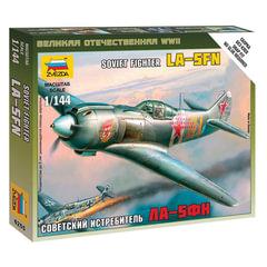 Модель для сборки САМОЛЕТ «Истребитель советский Ла-5ФН», масштаб 1:144, ЗВЕЗДА, 6255