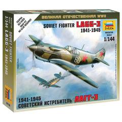 Модель для сборки САМОЛЕТ «Истребитель советский ЛАГГ-3», масштаб 1:144, ЗВЕЗДА, 6118
