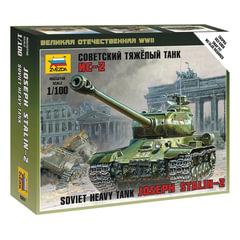 Модель для сборки ТАНК «Тяжелый советский ИС-2», масштаб 1:100, ЗВЕЗДА, 6201