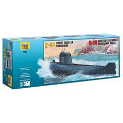 Модель для склеивания КОРАБЛЬ, «Подводная лодка атомная советская К-19», масштаб 1:350, ЗВЕЗДА, 9025
