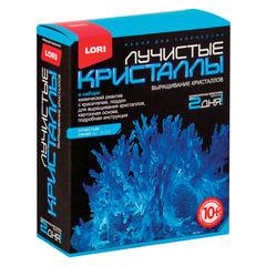 Набор для изготовления лучистых кристаллов «Синий кристалл», реагент, краситель, основа, LORI