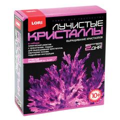 Набор для изготовления лучистых кристаллов «Фиолетовый кристалл», реагент, краситель, LORI