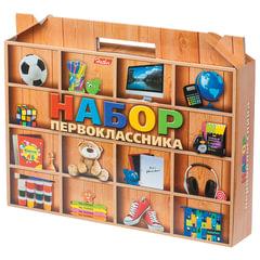 Набор для первоклассника в подарочной упаковке «Универсальный», HATBER, Нп4 17565
