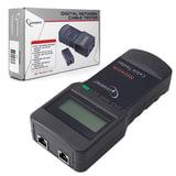 Тестер цифровой CABLEXPERT NCT-3, для сетевого, коаксиального и телефонного кабелей, разъемы RG-45/<wbr/>58, RJ-12/<wbr/>11