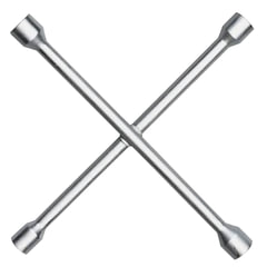 Ключ баллонный, крест, 17×19×21×22 мм, MATRIX PROFESSIONAL, усиленный, толщина 16 мм
