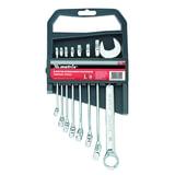 Набор ключей комбинированных 8-19 мм, 8 шт., MATRIX, CrV, хромированные, держатель с подвесом