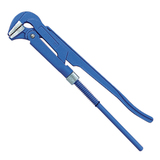 Ключ трубный рычажный №2, СИБРТЕХ, литой, регулируемый захват 20-50 мм, L=400 мм