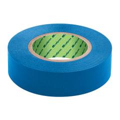 Изолента ПВХ, 15 мм х 10 м, СИБРТЕХ, 130 мкм, синяя