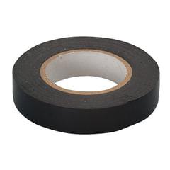 Изолента ПВХ, 15 мм х 10 м, СИБРТЕХ, 130 мкм, черная