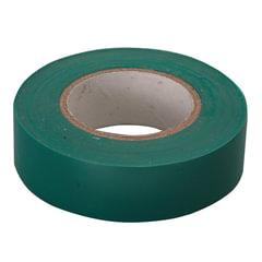 Изолента ПВХ, 15 мм х 10 м, СИБРТЕХ, 130 мкм, зеленая