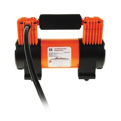 Автомобильный компрессор «X6», двухпоршневой, 70 л/<wbr/>мин, до 10 АТМ, работа от АКБ, AIRLINE, CA-070-17S