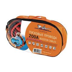 Провода для прикуривания аккумулятора, 200 А, 2 м, 12 В, сумка, AIRLINE