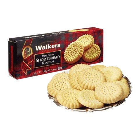Печенье WALKERS песочное «Круги», 150 г