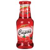 Сироп ПИКАНТА малиновый, 300 г, стеклянная бутылка