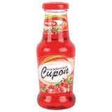 Сироп ПИКАНТА клюквенный, 300 г, стеклянная бутылка
