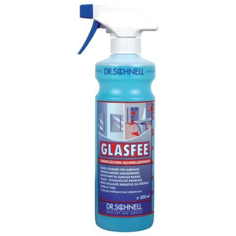 Средство DR.SCHNELL для стекол, GLASFEE, 500 мл, с распылителем, профессиональное