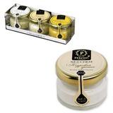 Мёд-суфле PERONI HONEY (Перони хани), набор 3 шт. х 30 мл, «Серия Фестиваль», стекло, пластиковая коробка