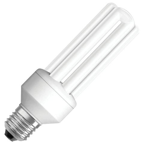Лампа люминесцентная OSRAM DULUX INT 22 W/840, 220-240 V, U-образная, цоколь E27