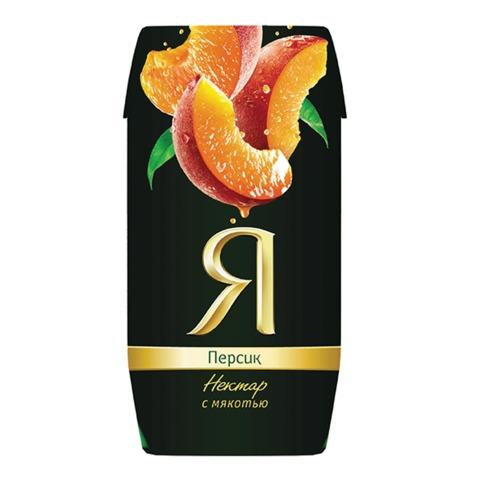 """Нектар """"Я"""", 0,2 л, персик, картонная упаковка"""