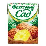 Нектар ФРУКТОВЫЙ САД, 0,2 л, ананас, картонная упаковка
