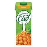 Нектар ФРУКТОВЫЙ САД, 0,95 л, ананас, картонная упаковка
