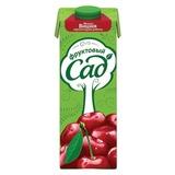 Нектар ФРУКТОВЫЙ САД, 0,95 л, вишня, черноплодная рябина, яблоко, картонная упаковка