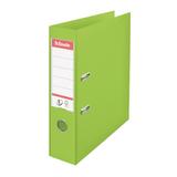 Папка-регистратор ESSELTE VIVIDA, с покрытием из ПВХ, 75 мм, зеленая
