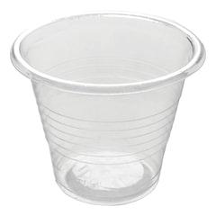 Одноразовые стаканы, комплект 3800 шт., пластиковые 50 мл, прозрачные, ПП, для холодного/<wbr/>горячего