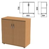 Шкаф закрытый «Этюд», 800×384×830 мм, цвет бук бавария (КОМПЛЕКТ)