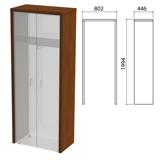 Декоративное обрамление шкафов «Приоритет», 802×446×1994 мм, ноче милано (КОМПЛЕКТ)