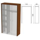 Декоративное обрамление шкафов «Приоритет», 1162×446×1994 мм, ноче милано (КОМПЛЕКТ)