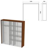Декоративное обрамление шкафов «Приоритет», 1884×446×1994 мм, ноче милано (КОМПЛЕКТ)