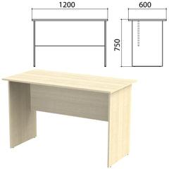 Стол письменный «Канц», 1200×600×750 мм, цвет дуб молочный (КОМПЛЕКТ)