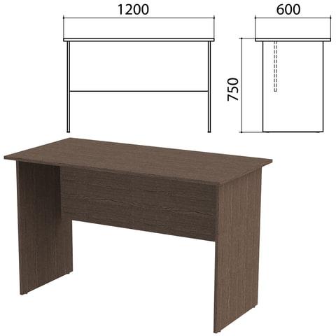 Стол письменный «Канц», 1200×600×750 мм, цвет венге (КОМПЛЕКТ)