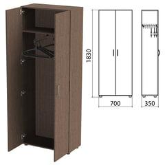 Шкаф для одежды «Канц», 700×350×1830 мм, цвет венге (КОМПЛЕКТ)