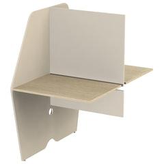 Модуль стола двустороннего «Call-центр», 818×1320×1418 мм, цвет бежевый/<wbr/>ясень альтера (КОМПЛЕКТ)