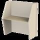 Стол боковой «Call-центр», 1320×670×1418 мм, цвет бежевый/<wbr/>ясень альтера (КОМПЛЕКТ)