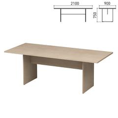 Стол для переговоров «Директ», 2100×900×750 мм, дуб шамони (КОМПЛЕКТ)