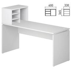 Полка настольная «Кубика», 600×330×365 мм, белый